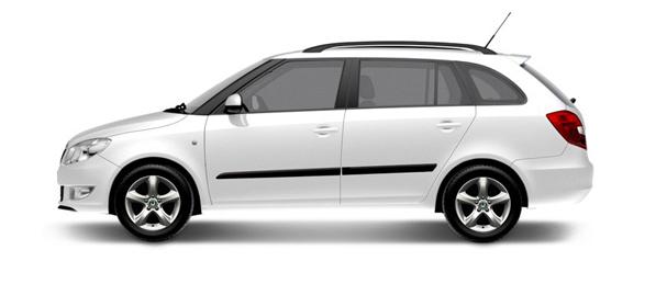 Samochód osobowy Skoda Fabia Combi