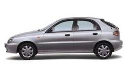 Samochód osobowy Daewoo Lanos
