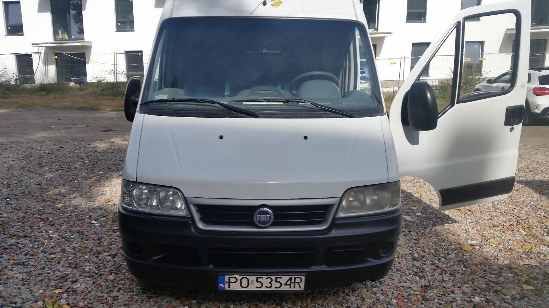 Samochód dostawczy - bus Fiat Ducato