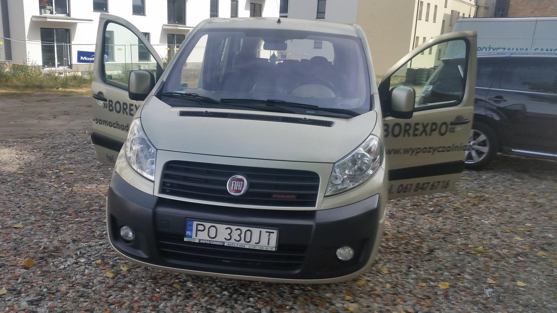 Bus wieloosobowy Fiat Scudo